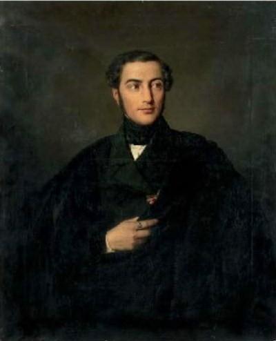 Портрет А. К. Кавоса кисти Дузи Козрое (1849)