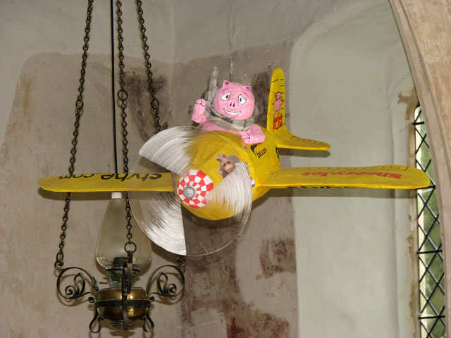 All Saints church - flying pig - geograph.org.uk - 1692162