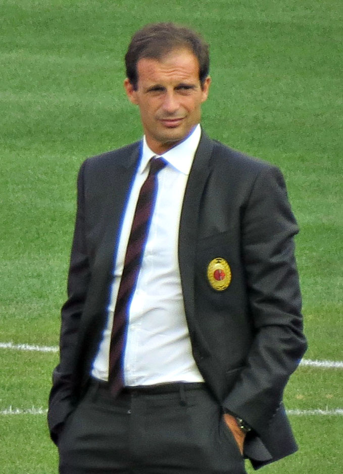 The 51-year old son of father (?) and mother(?) Massimo Allegri in 2018 photo. Massimo Allegri earned a  million dollar salary - leaving the net worth at 2.4 million in 2018