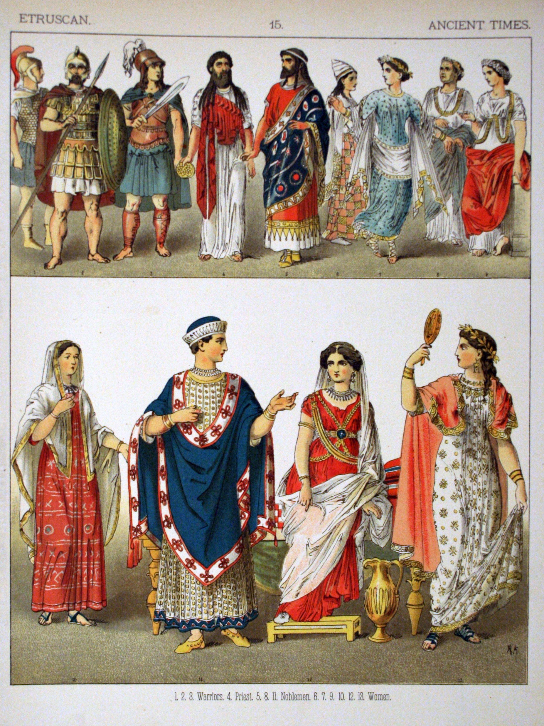 the etruscans ancient history If there were a prize for getting unfairly bad-mouthed in ancient history, etruscan women would likely win hands down the greeks and later romans said terrible things about them.