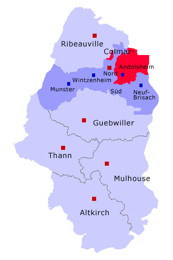 Canton d'Andolsheim