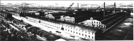 Fàbrica tèxtil catalana dels Burés al 1905, prop d'Anglès (la Selva).