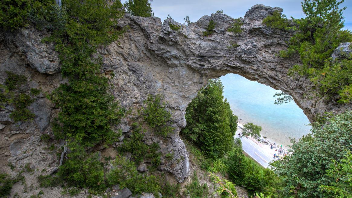 Rock Arch Mackinac Island