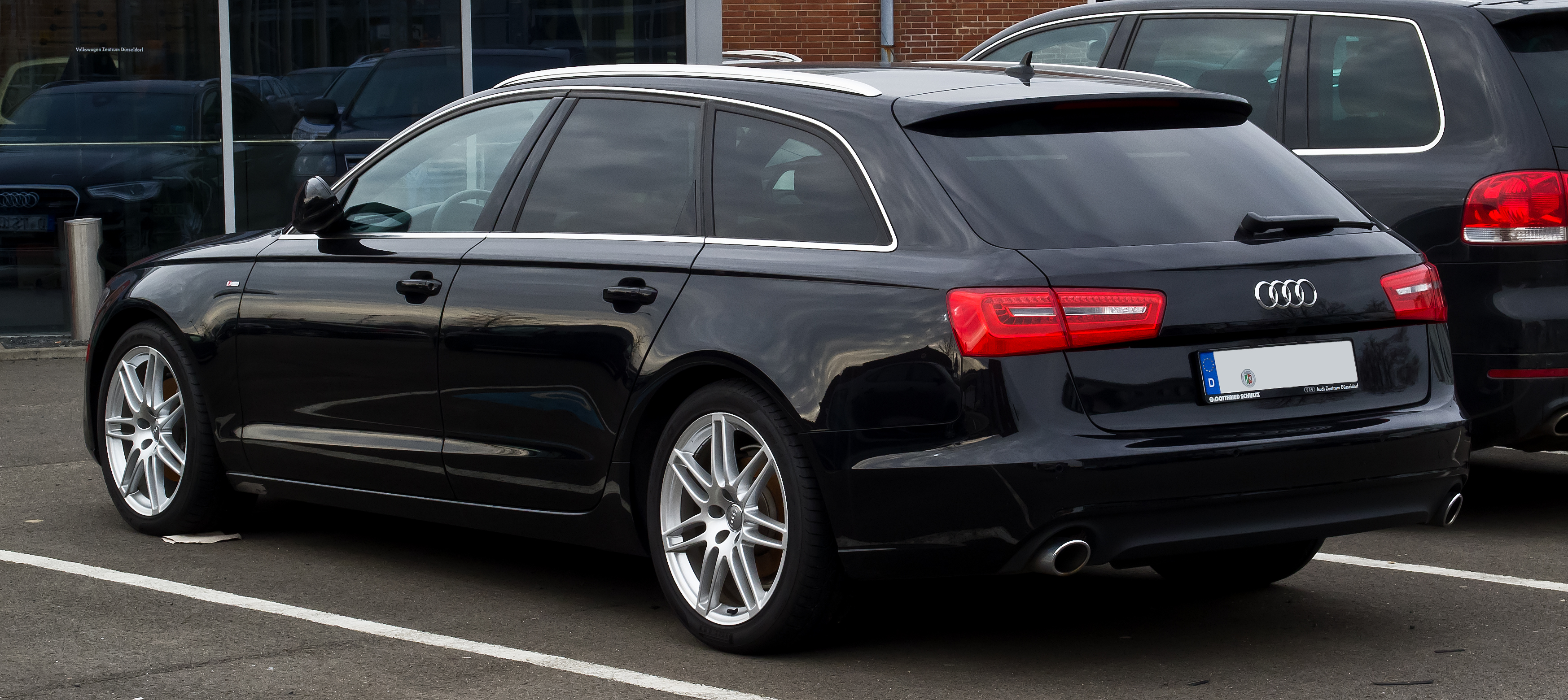 File Audi A6 Avant S Line C7 Heckansicht 11 Februar