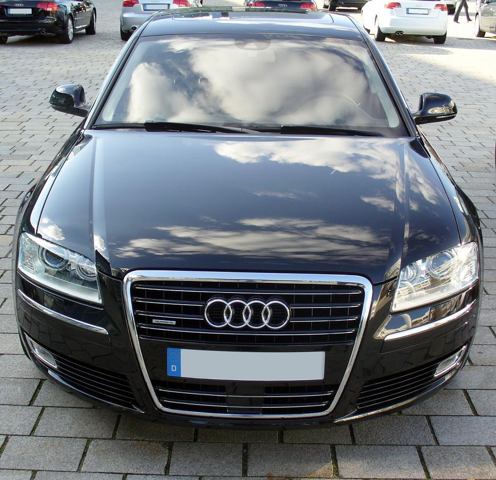 Audi a8 quattro facelift front jpg