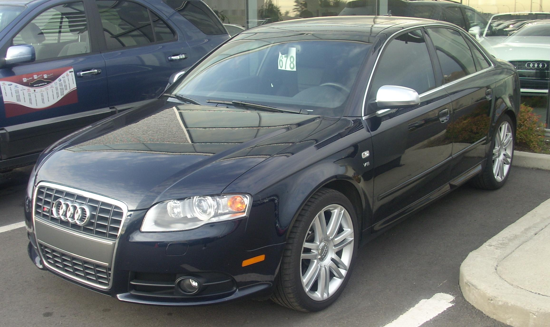 File Audi S4 B7 Sedan Jpg Wikimedia Commons