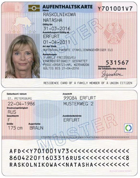 Г¶sterreich Ausweis