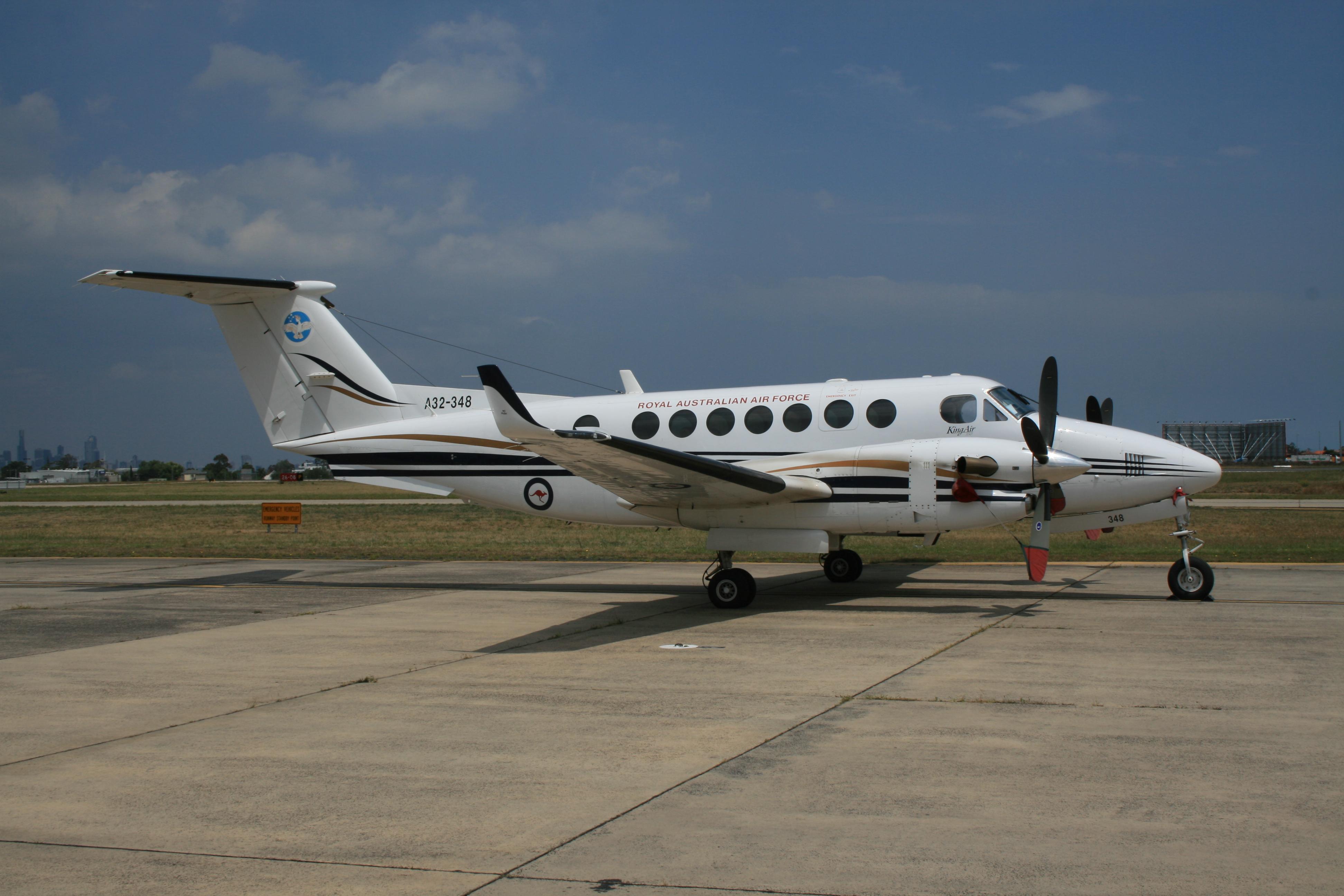Australian_Beechcraft_B300_King_Air_350.