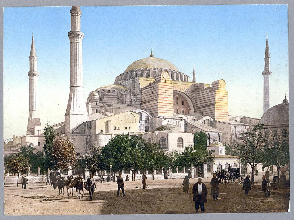 File:Ayasofya Mosque Istanbul 1890.jpg