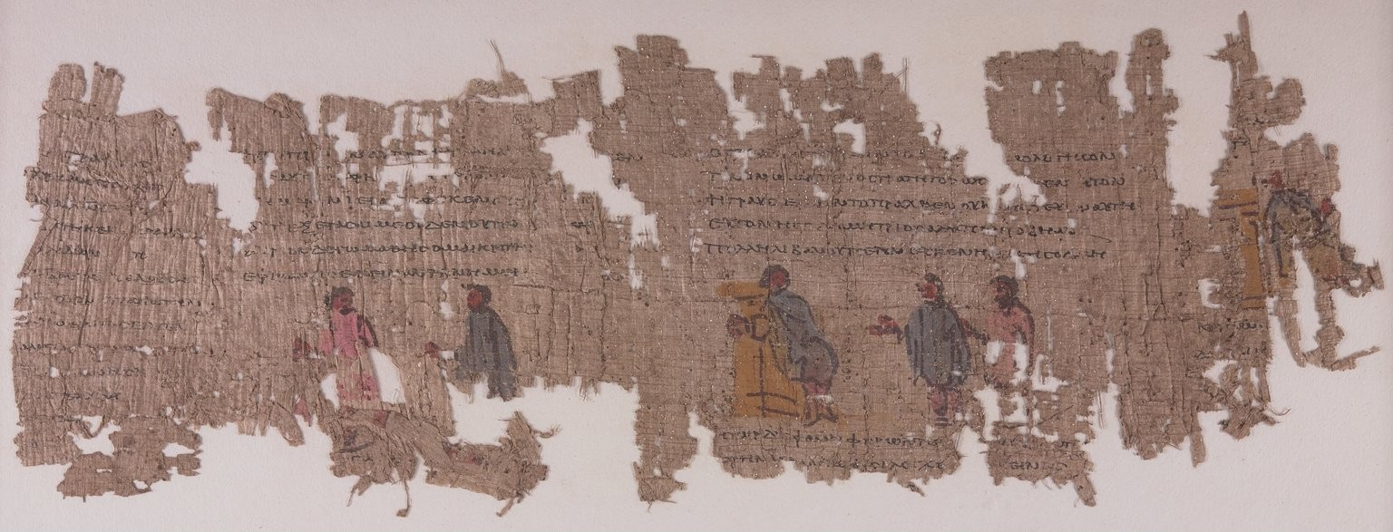 The Romance Papyrus, One of the Few Surviving Examples of