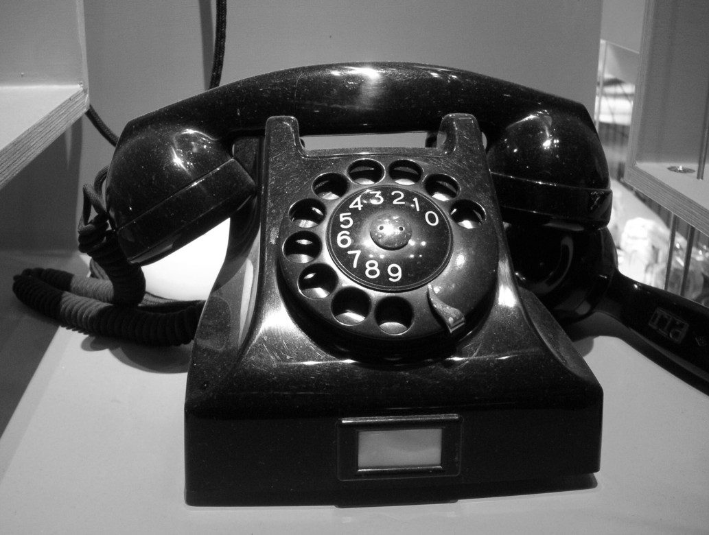 Old Fashioned Dial Phone