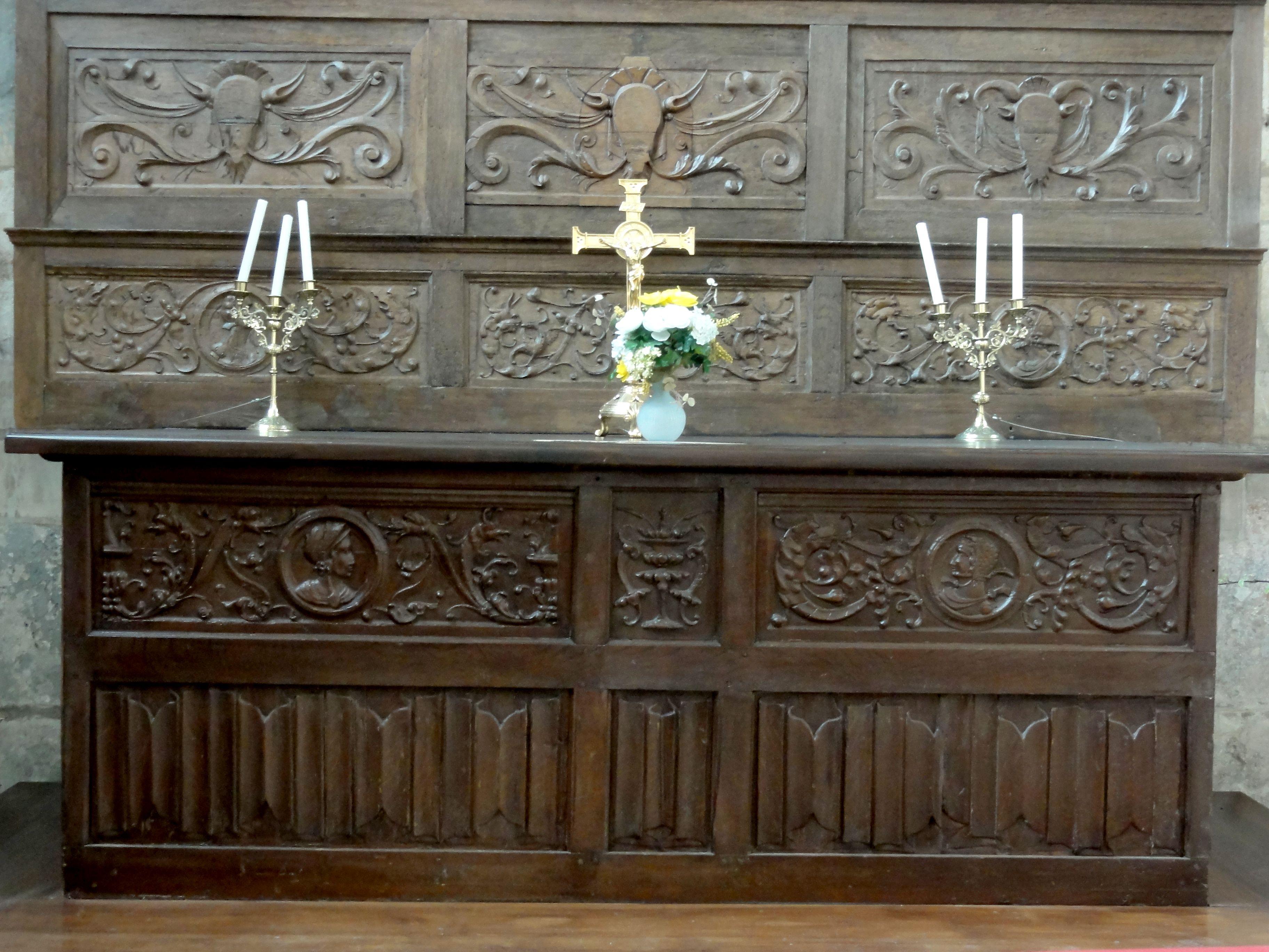 Fichier beauvais 60 glise saint tienne autel de sainte marthe 2 jpg wikip dia - Mobilier jardin d ulysse saint etienne ...