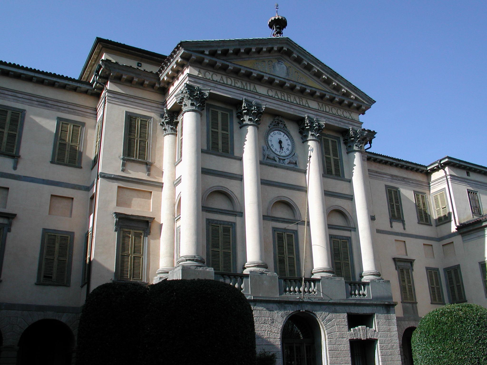 Accademia for Galleria carrara bergamo