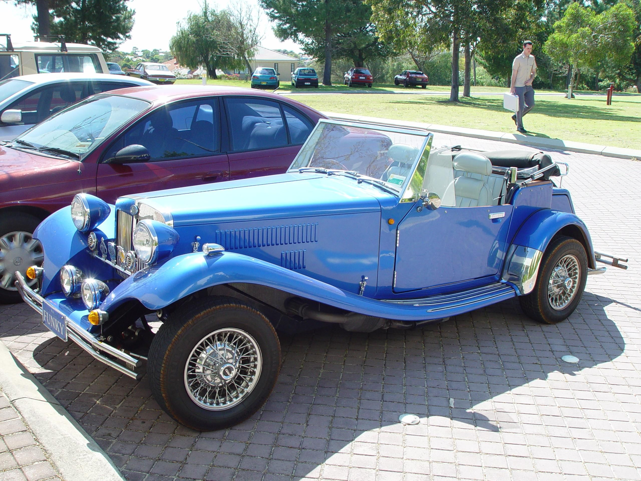 Blue Car In Lumber Tycoon