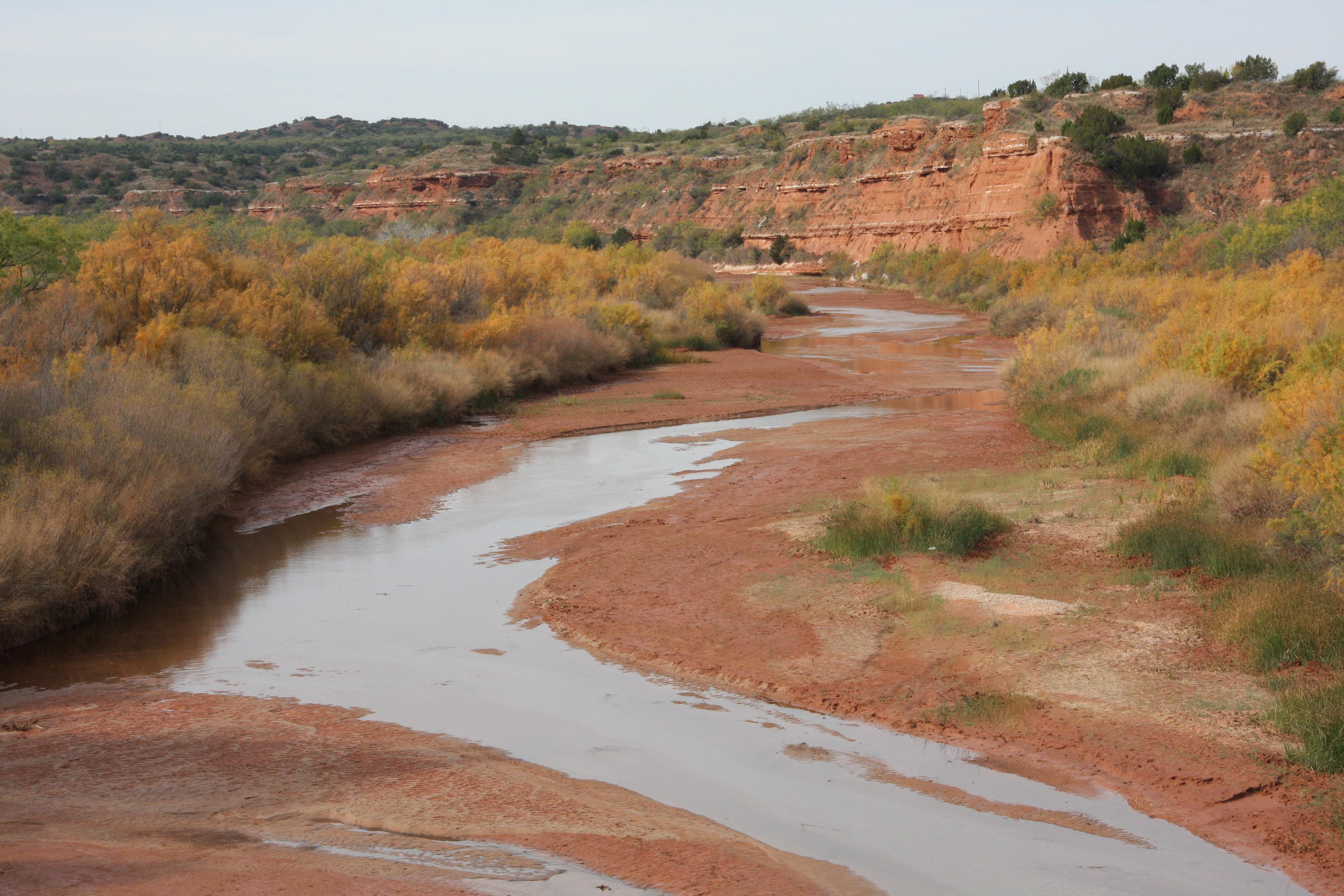 Description brazos river double mountain fork rotan texas 2009