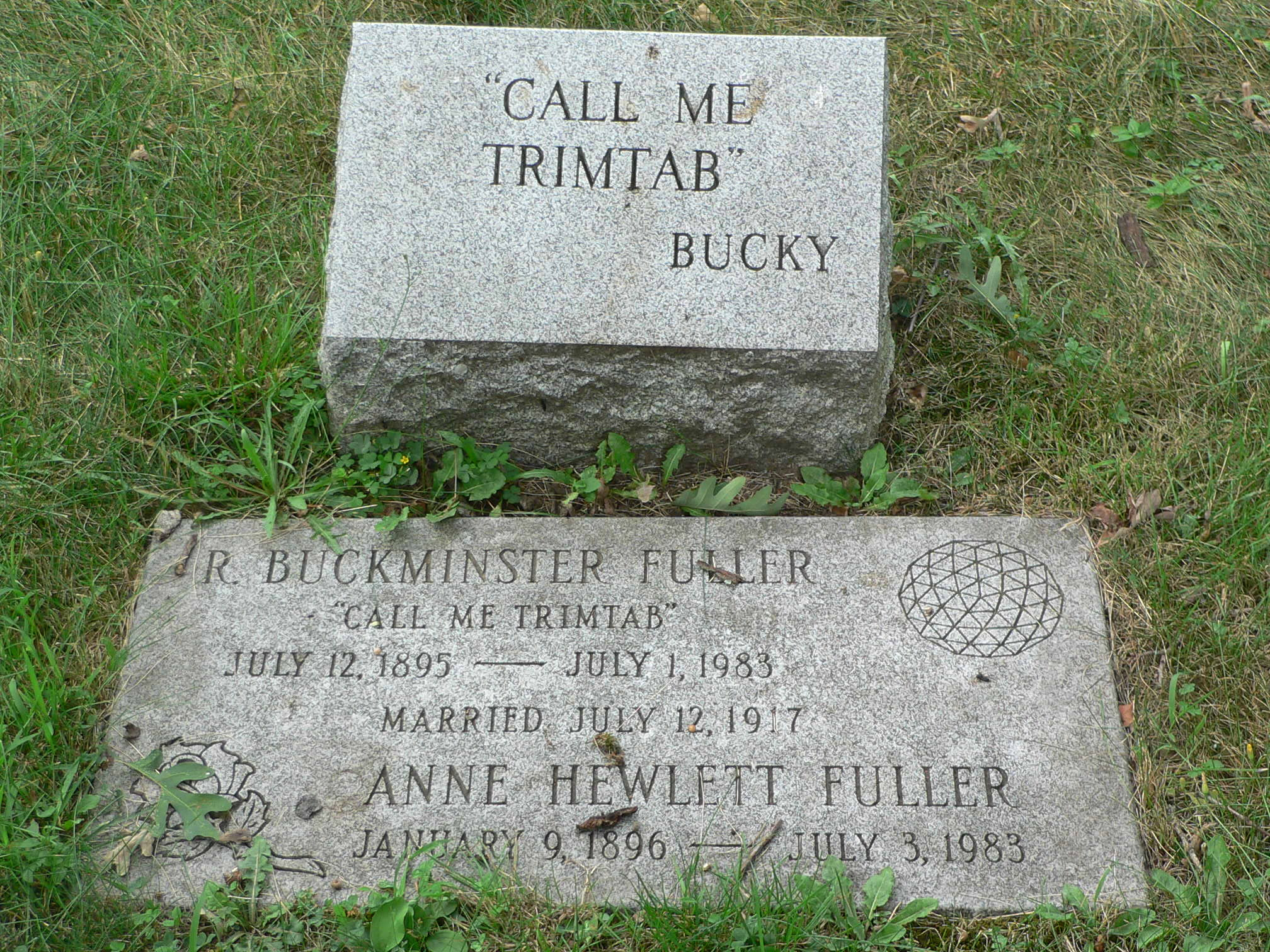 Bucky Fuller's Tombstone