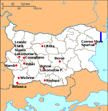 Bulgarya soccer league map 2.png