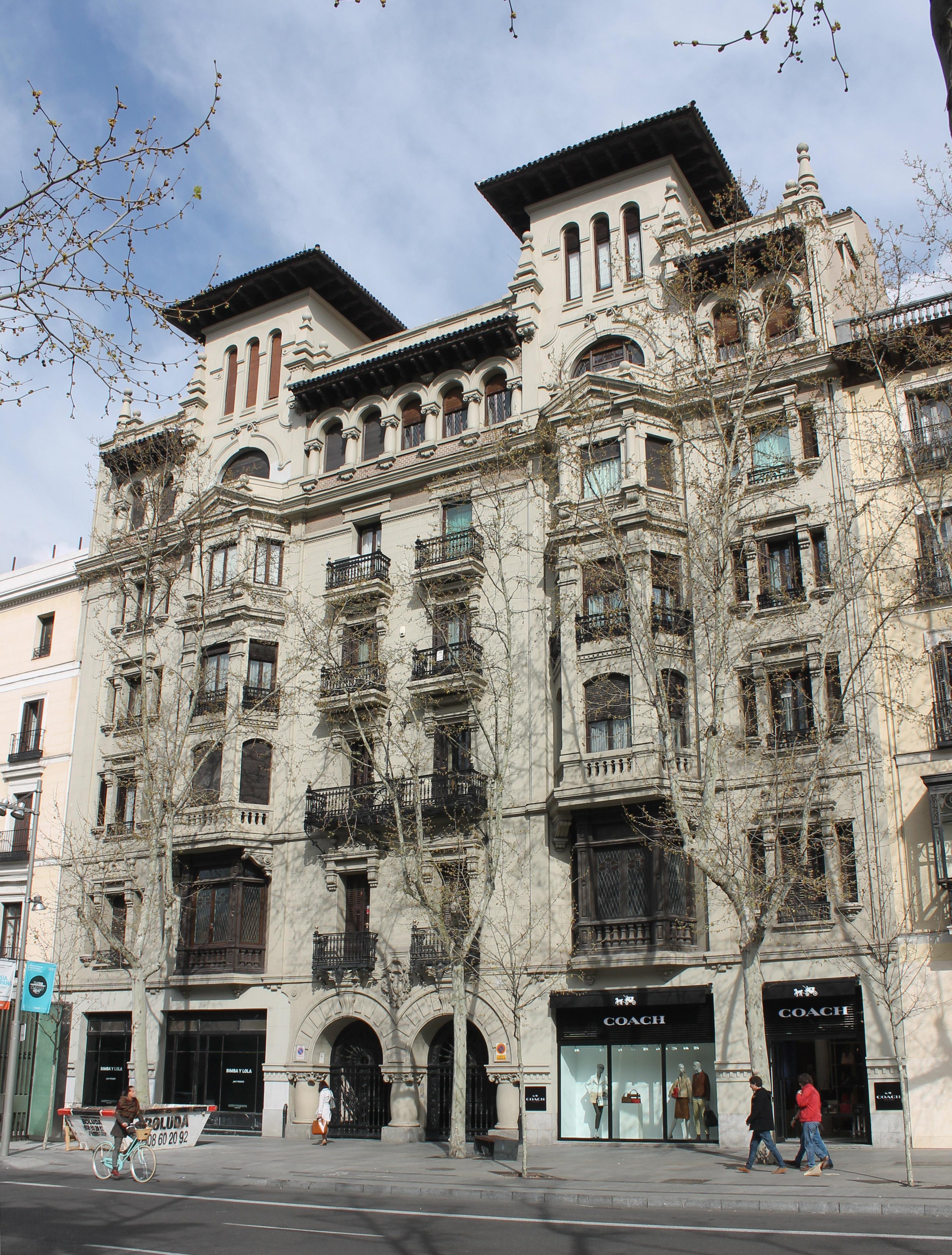 File calle de serrano n 22 madrid wikimedia - Calle serrano 55 madrid ...