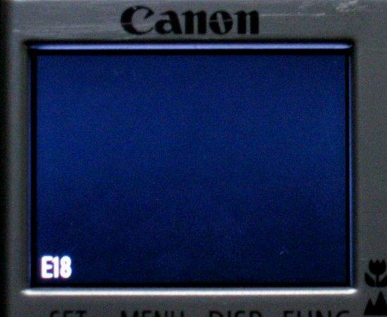 File:Canon Ixus II with E18 error.jpg