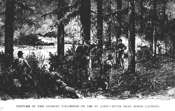 Capture of Columbine at Horse Landing