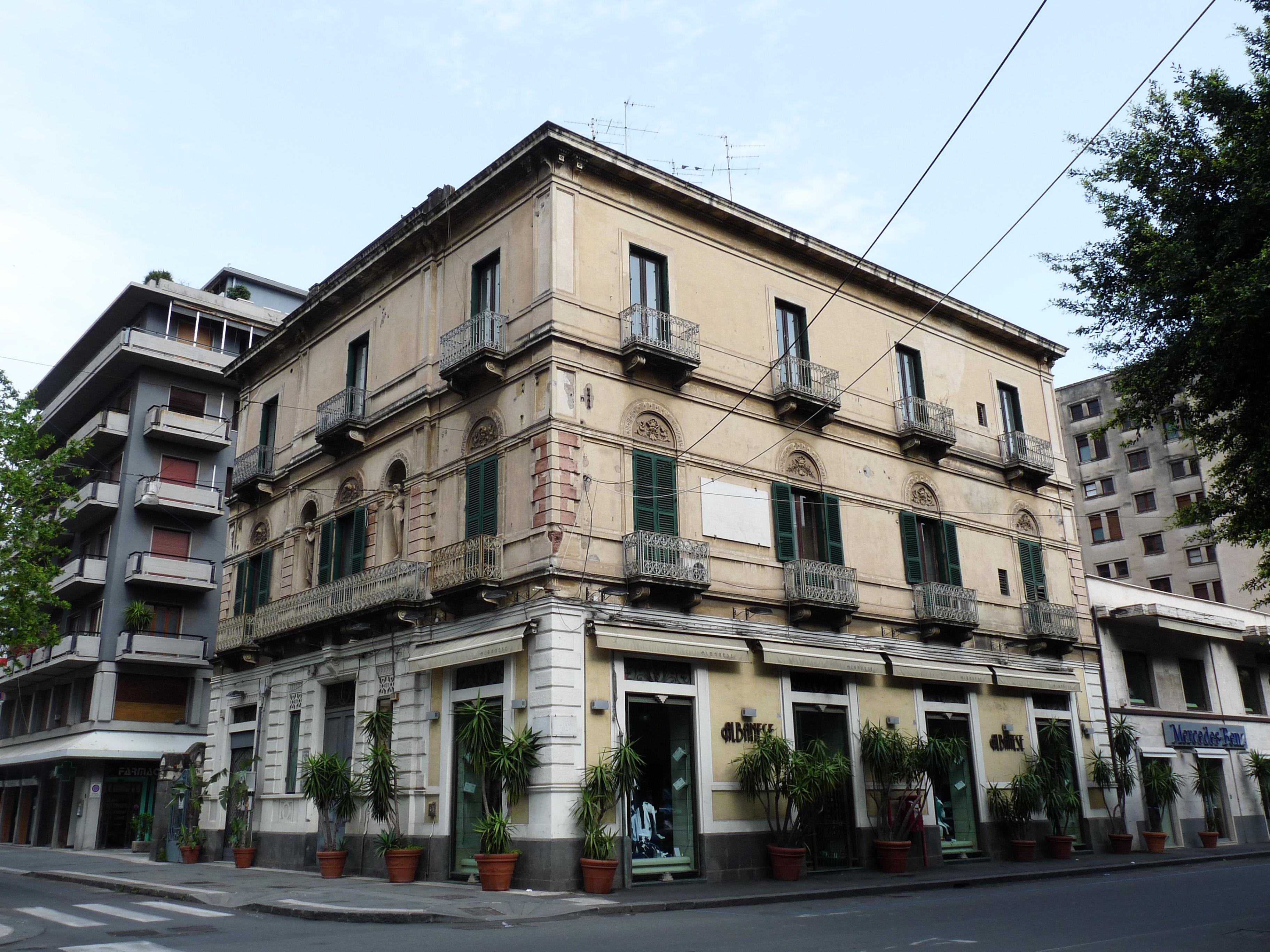 File catania corso italia 5 jpg wikimedia commons for Corso arredatore d interni catania