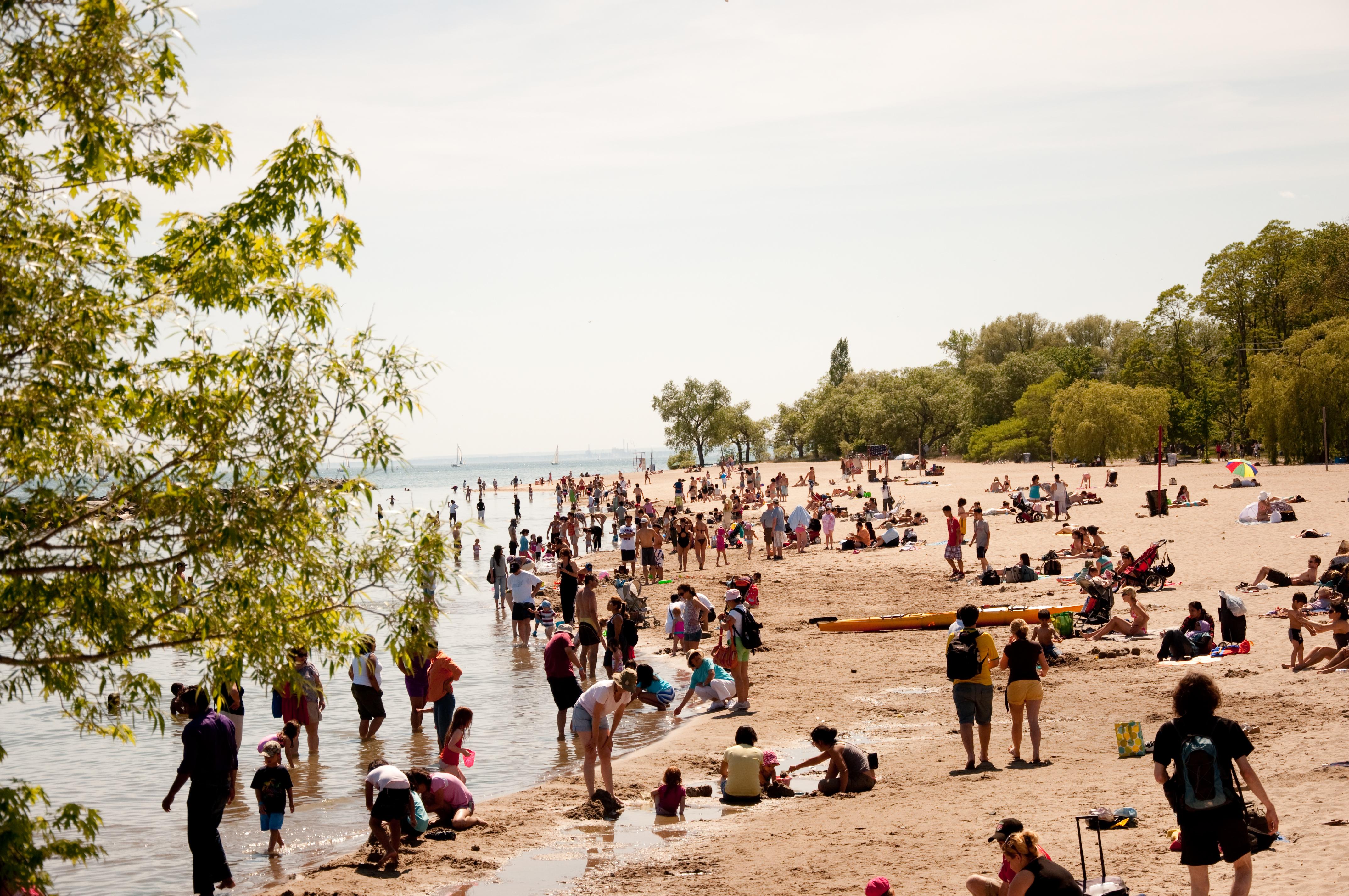 Hanlans Point Toronto Island