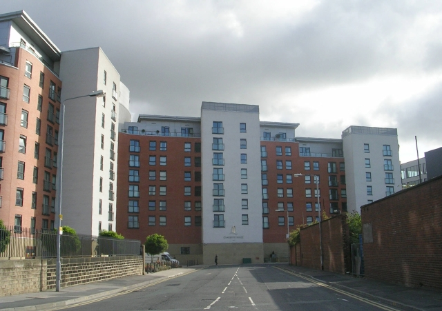 File Chadwick Street And Clarence Dock Apartments Geograph Org Uk 986072 Jpg