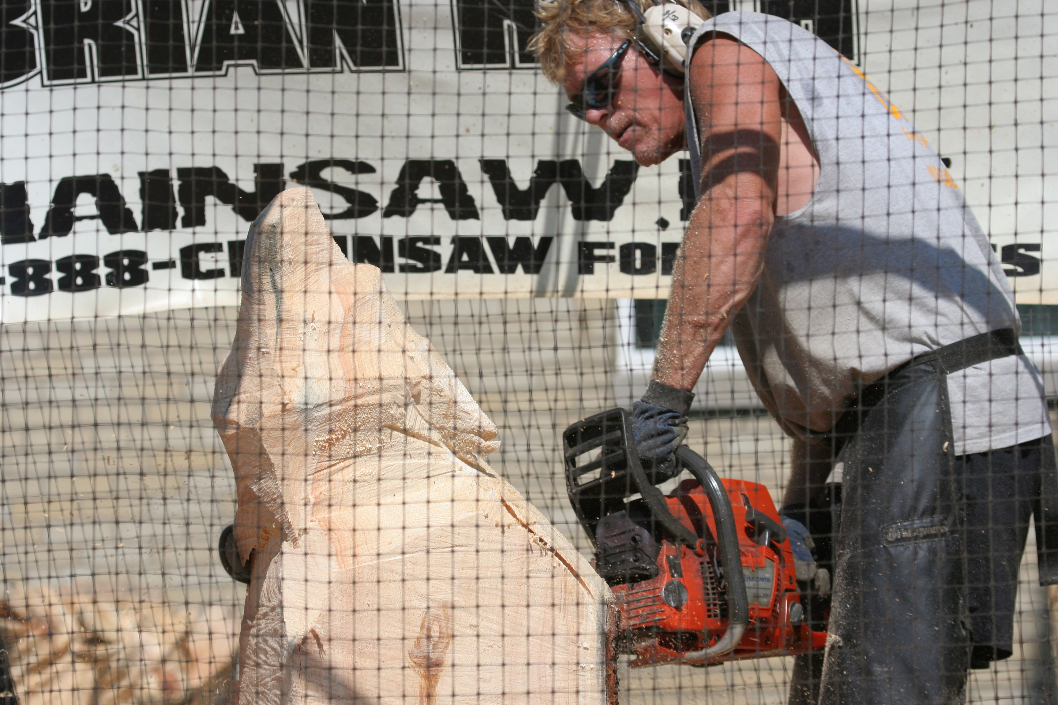 File chainsaw carving nysfair g