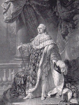 when managed louis xvi became king