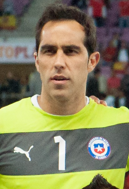 Claudio Bravo earned a  million dollar salary, leaving the net worth at 7.2 million in 2017