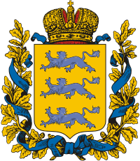 ファイル:Coat of Arms of Estland gubernia (Russian empire).png