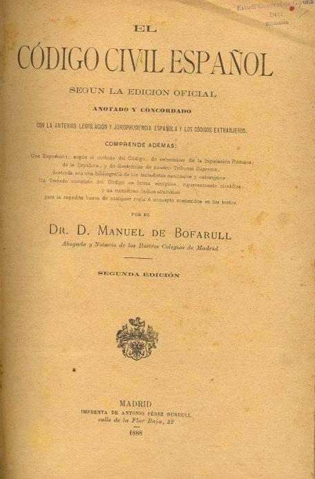 Código Civil de España - Wikipedia, la enciclopedia libre