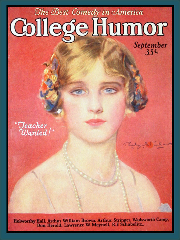 College Humor mag. cover : 1925