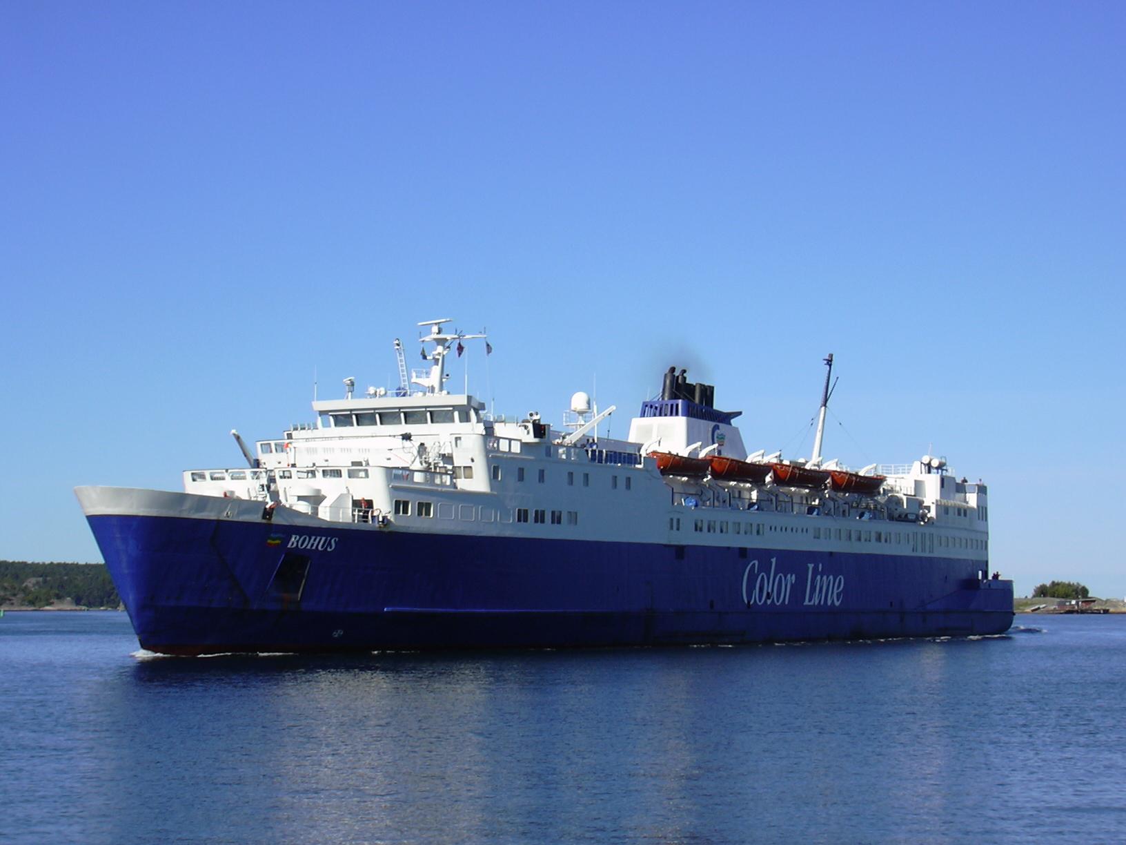 Book color line ferry - Color Bohus Jpg