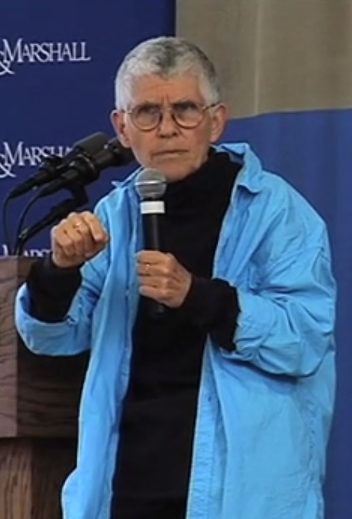 Cynthia Enloe speaks at [[Franklin & Marshall College]] in 2014