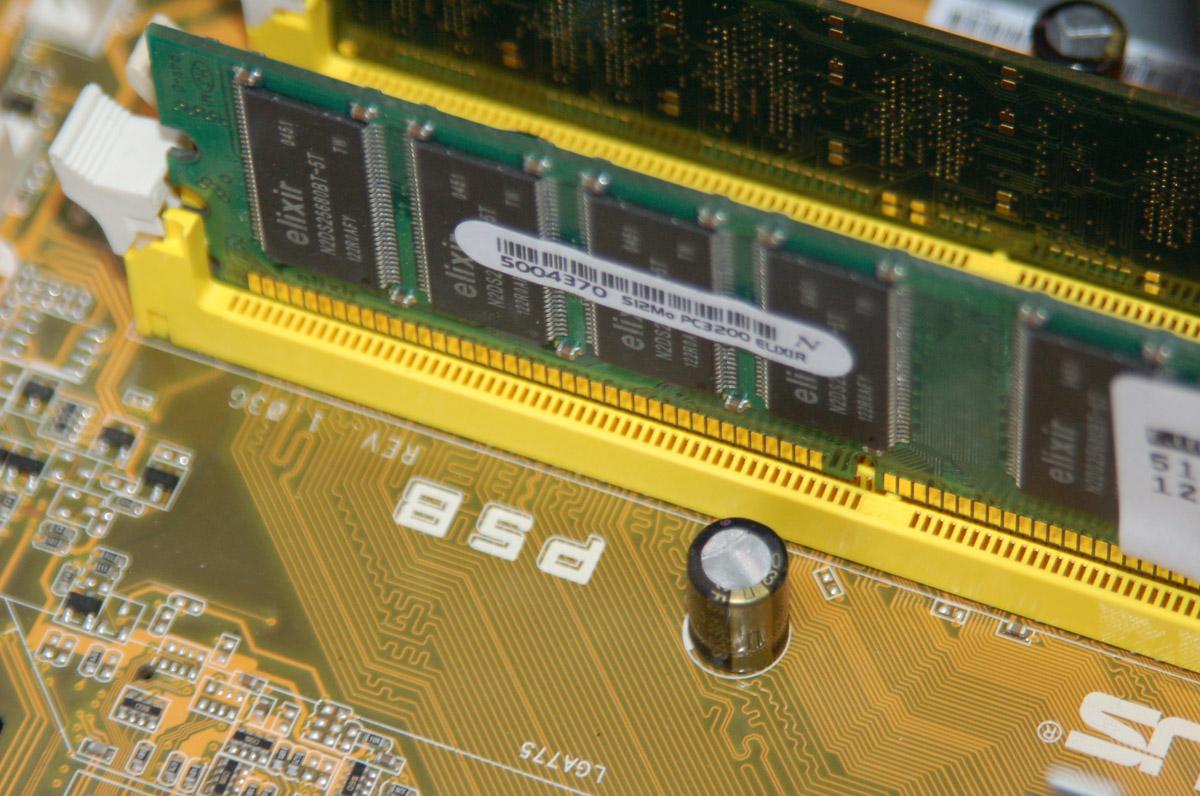 Consommation mémoire des process d'un serveur LAMP