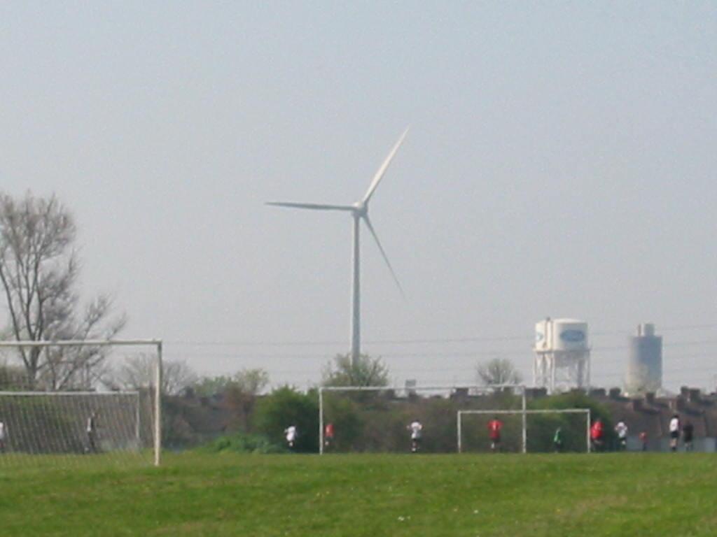 Dagenham Wind Turbines Wikipedia