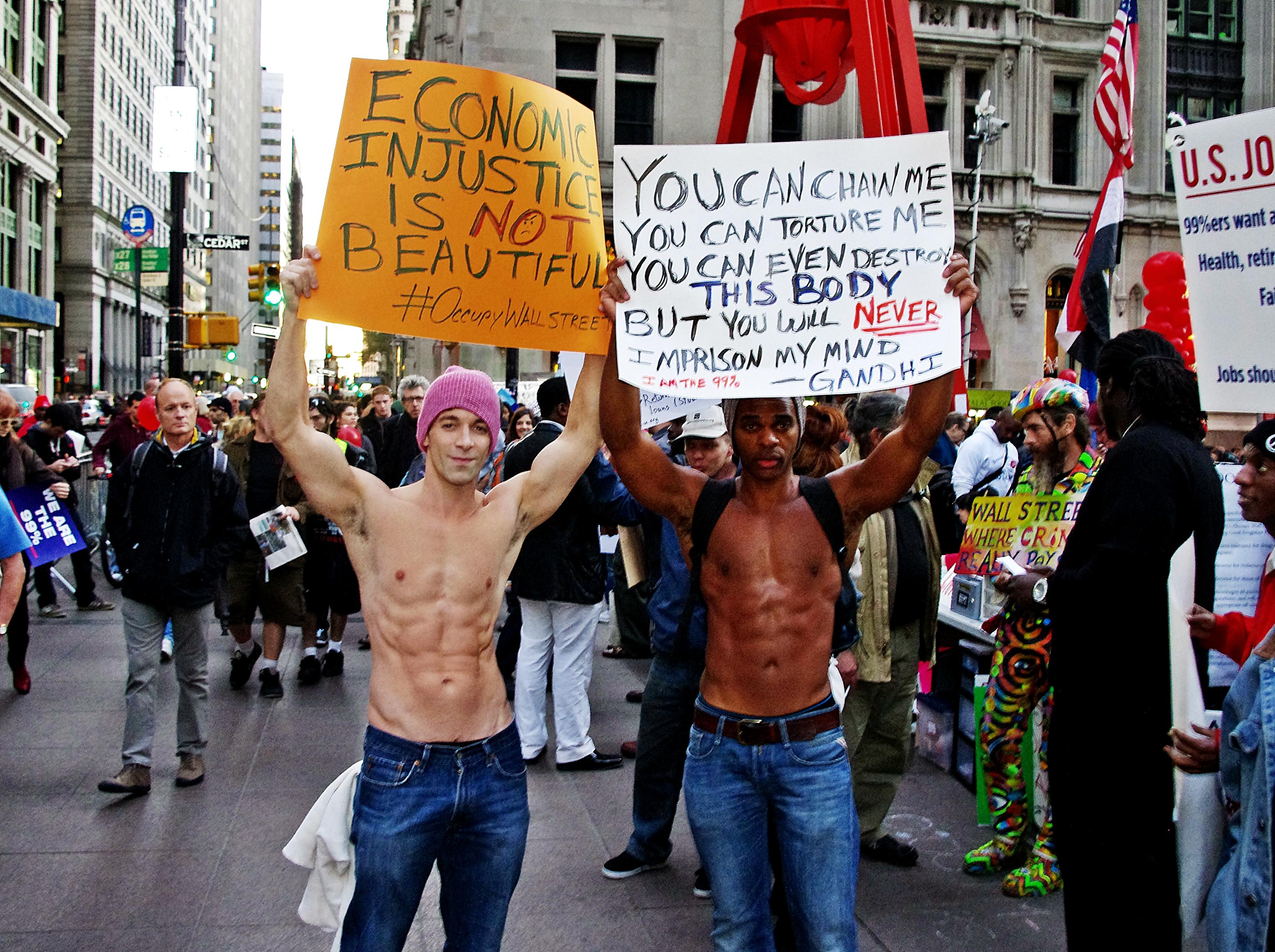 Description day 40 occupy wall street october 25 2011 shankbone 7 jpg