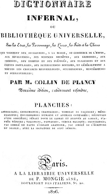Dictionnaire Infernal Wikipedia