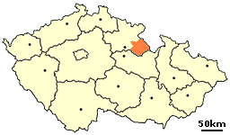 District Rychnov nad Kneznou in the Czech Republic.png