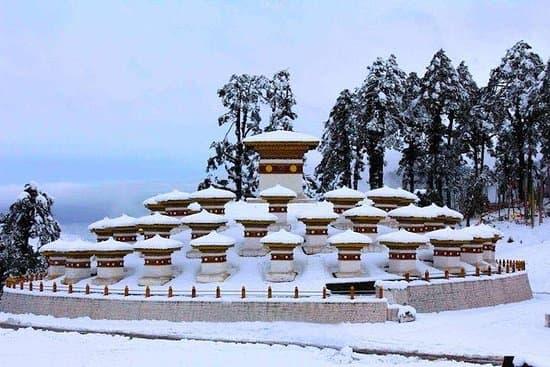 108 stupas in Dochula Pass