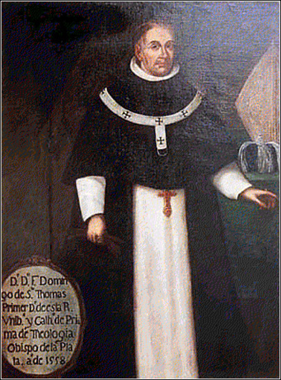 Fray Domingo de Santo Tomás (''''Museo de Arte de San Marcos'' collection)