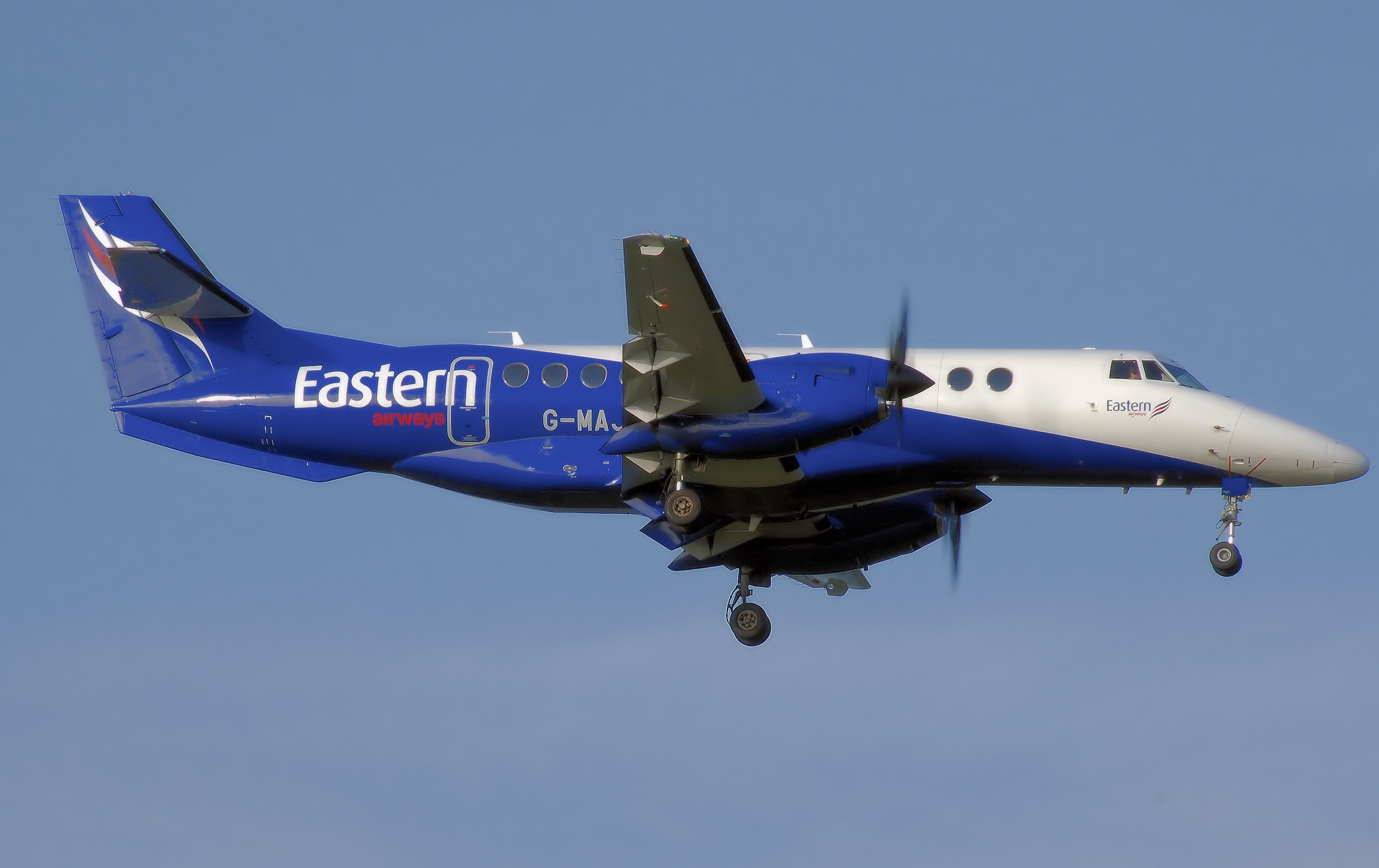 Airline Eastern Airways (Eastern Airways). Official sayt.2