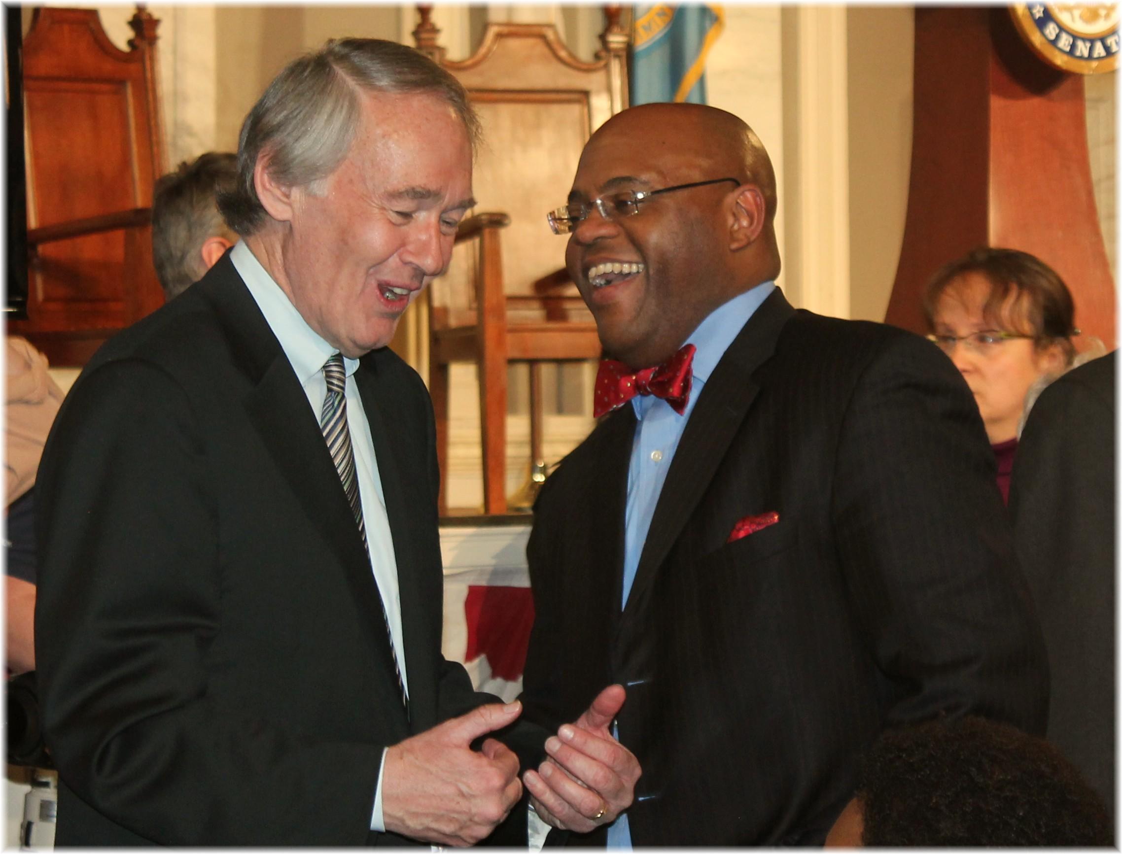 ed markey and mo cowan at john kerry farewell - 2013.jpg