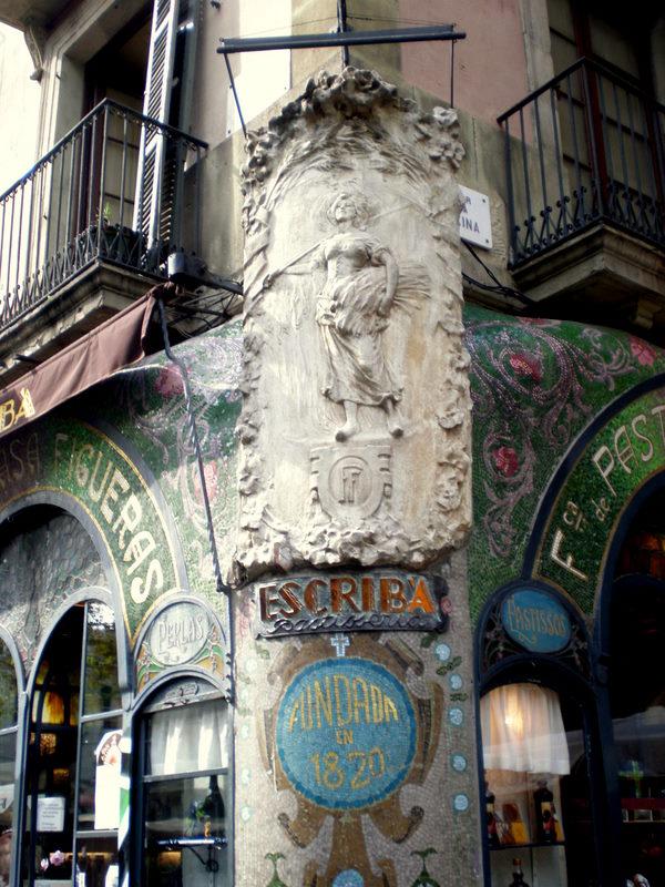 Antiga Casa Figueres sur l'avenue de la Rambla à Barcelone - Photo de Jaume Meneses
