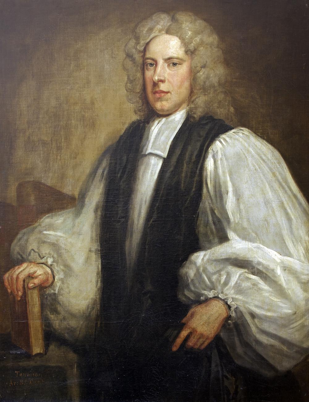 Edward Tenison, portrait by [[John Vanderbank