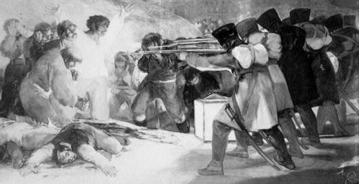 Goya, El Tres De Mayo