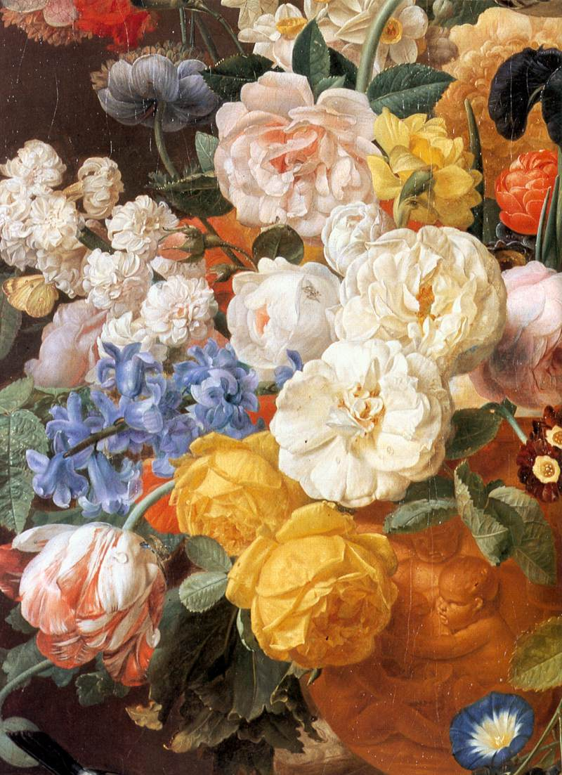 File Eliaerts Jan Frans Bouquet Of Flowers In A Sculpted Vase Detail 19th C Jpg