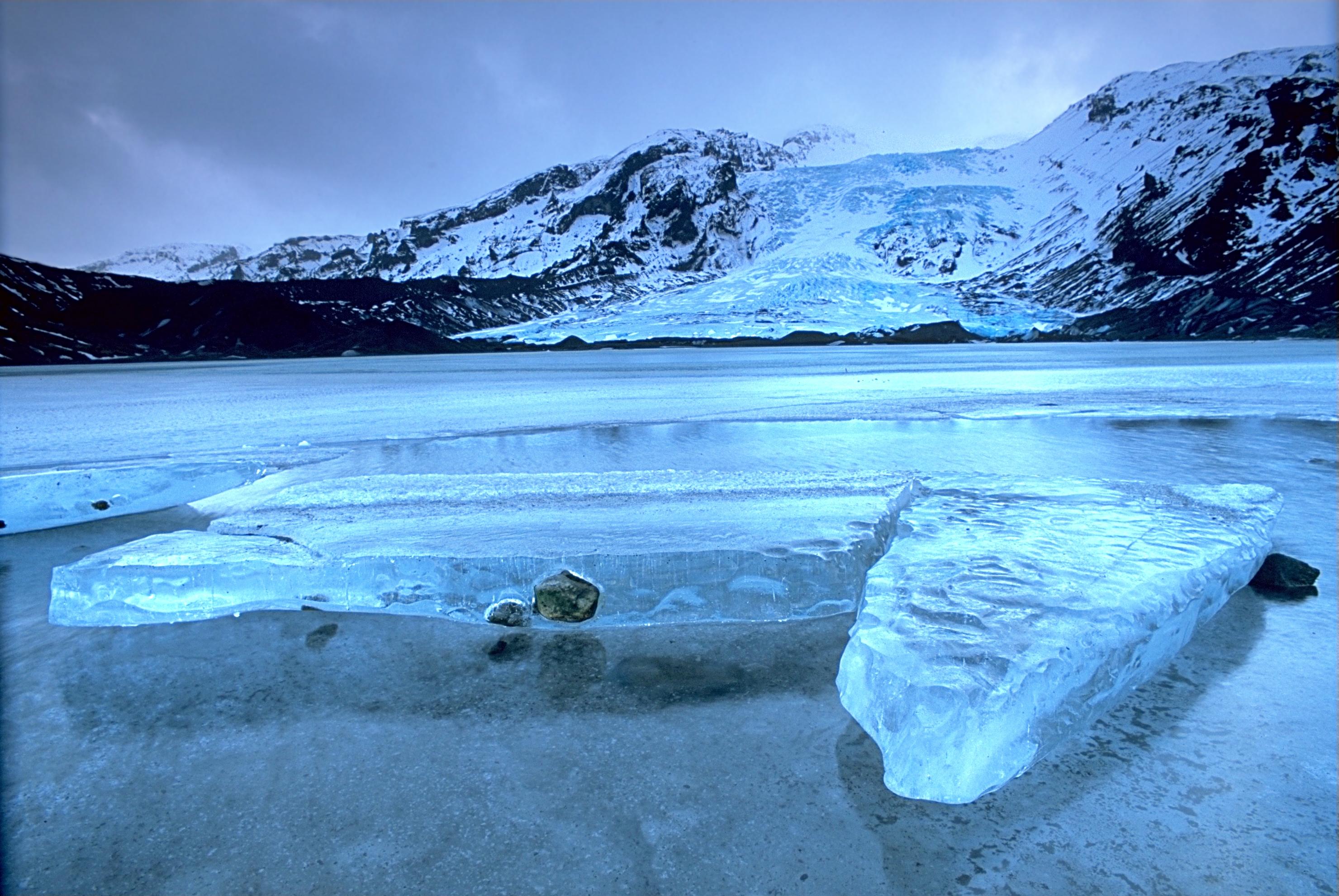 Picturesque Icelandic Glaciers
