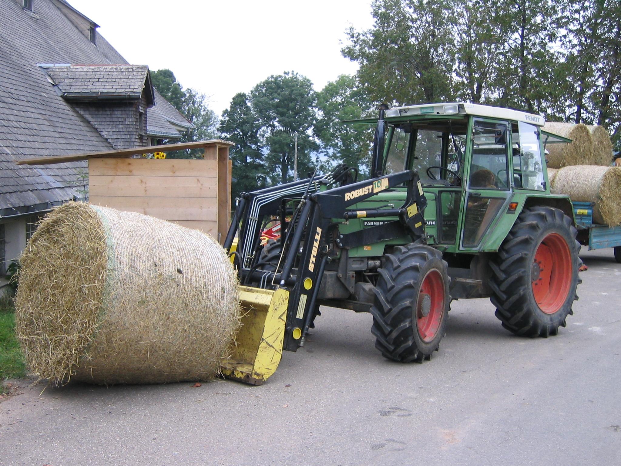 Frontlader traktor u wikipedia